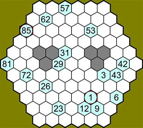 printable hidato puzzle can you solve it is beehive hidato the new sudoku