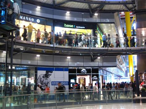 in mall shopping in barcelona las arenas mall beautiful places