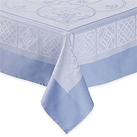 bed bath beyond tablecloths wamsutta 174 collection gardiner tablecloth bed bath beyond