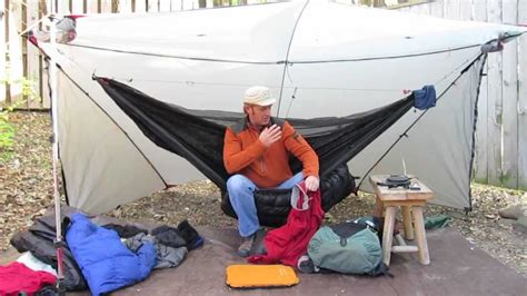 Shug Hammock shug s backpack hammock load for a 21 186 trip part 1