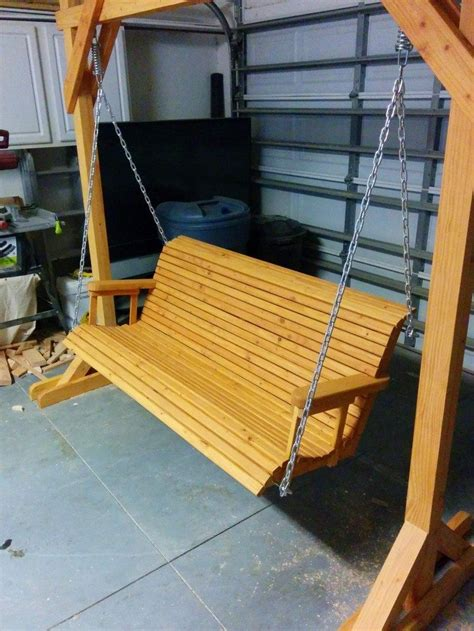porch swing diy plans build a wood porch swing with cup holders diy projects