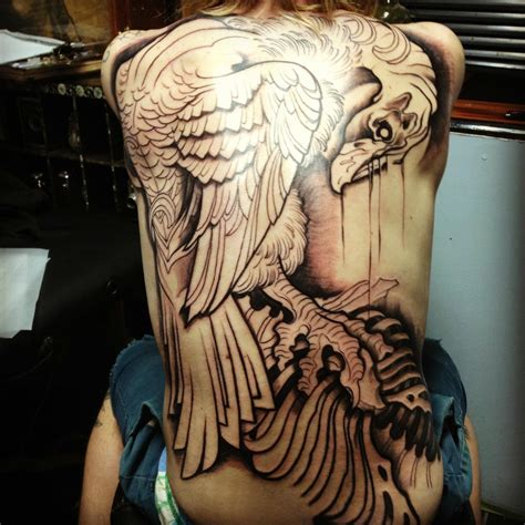 tattoo parlor college park 60 hours and 6 months into my narasimha cro mags back