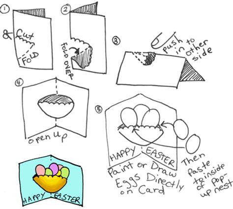 easter card template ks1 osterbastelideen aus dem netz