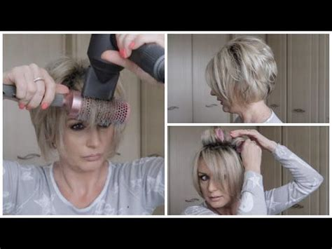 how to blow dry a bob hairstyle youtube best 10 stacked bob short ideas on pinterest short bob