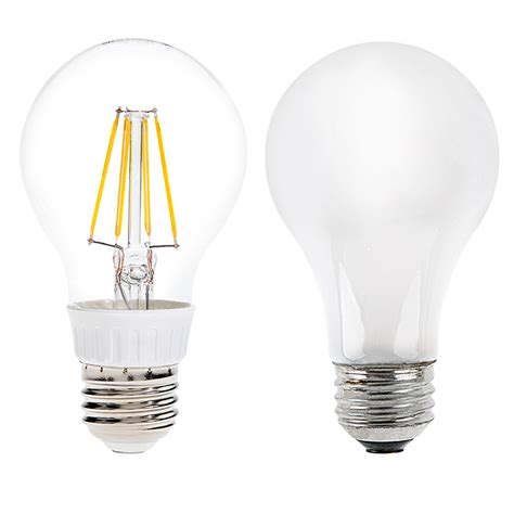 Led A19 Light Bulbs A19 Led Filament Bulb 40 Watt Equivalent Led Vintage