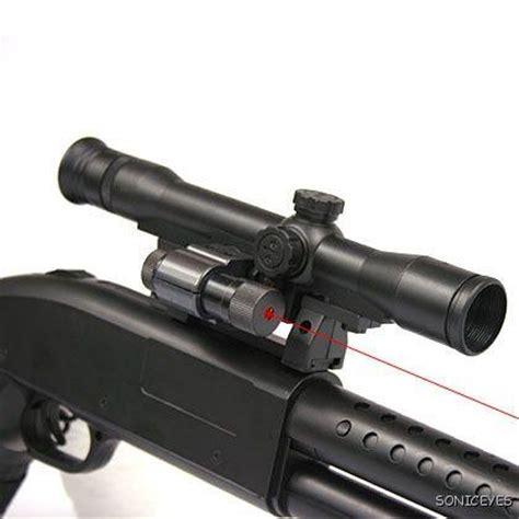 Scope M9 With Laser cyma riot airsoft shotgun laser scope m9 ebay