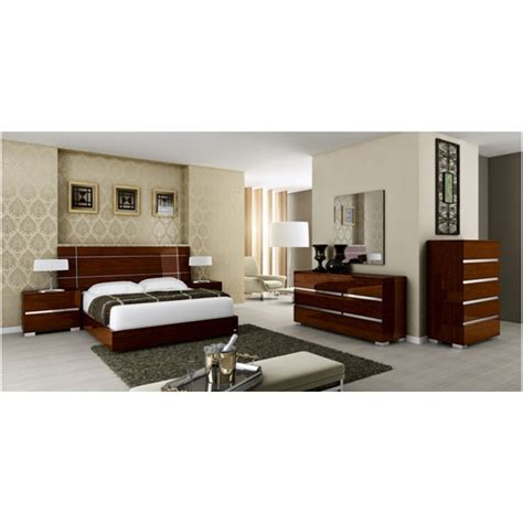 king bed dimensions usa athome usa drbnolt02 walnut lacquer dream king size bed