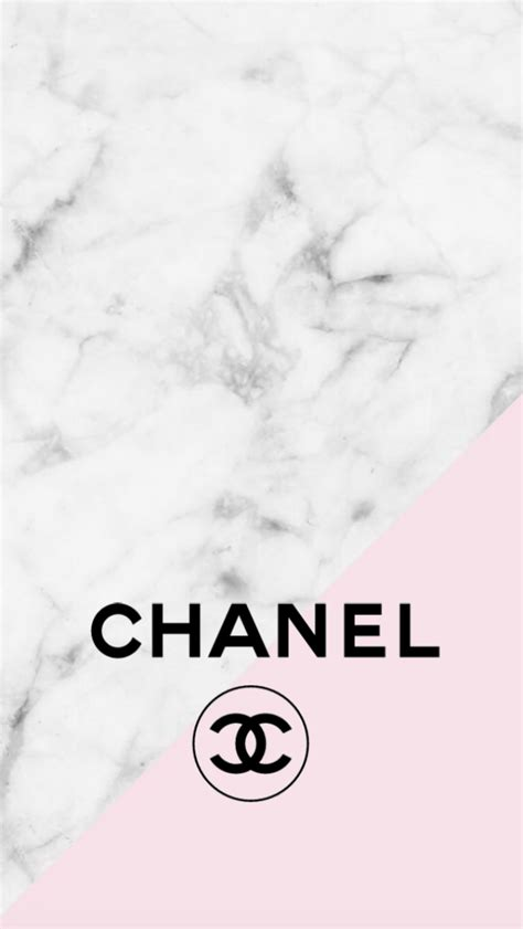 To Chanel Or Not To Chanel by Chanel Logo Pink Marble Iphone Background Mine