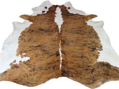bruin koeienkleed koeienhuid 2124 bruin wit zwart 230cm x 210cm het