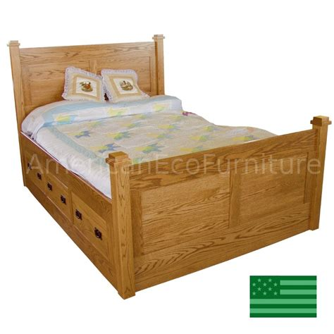 solid wood storage bed amish eaton storage bed solid wood usa made children s