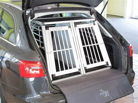 Hundebox Für Audi A4 Avant by N43 Hundetransportb Ox Doppelbox Aluminium Transportbox