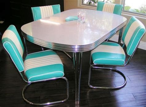 pin by lucille guay on chrome kitchen dinette table and