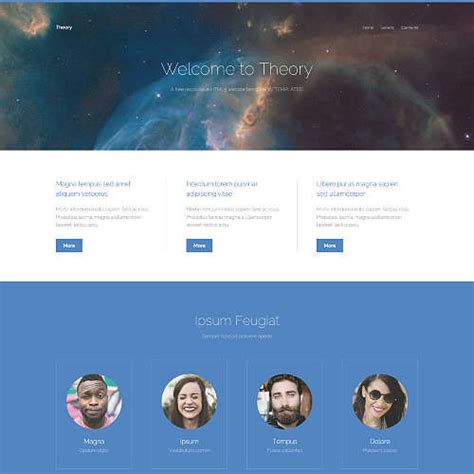 template theory templated free css html5 and responsive site templates