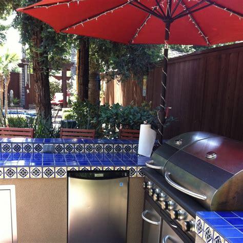 outdoor bar spanish tile stucco spanish style