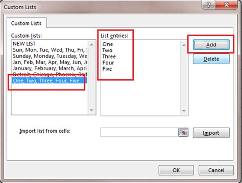 excel pattern types custom autofill lists in excel excel bytes expert