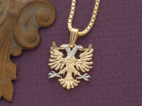 albanian eagle pendant and necklace albanian jewelry 14