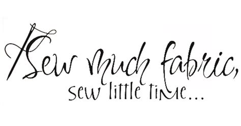 Wall Sticker Designs cute sewing quotes quotes
