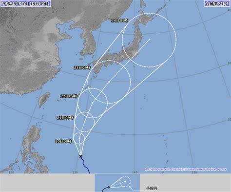 bca xxi 2017 台風21号2017東京関東地方への影響は 米軍の進路予想