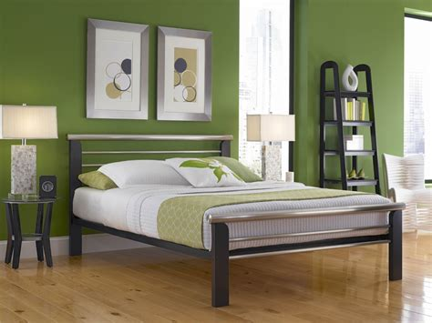california king metal bed frame wooden and metal california king bed frame decofurnish