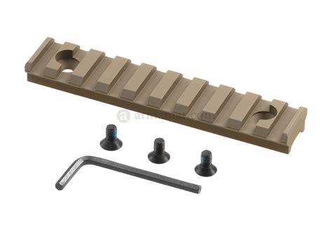 picatinny rail section picatinny rail section 10 slots for super slim handguard