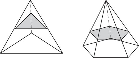 geometry cross sections three dimensional figures three dimensional figures