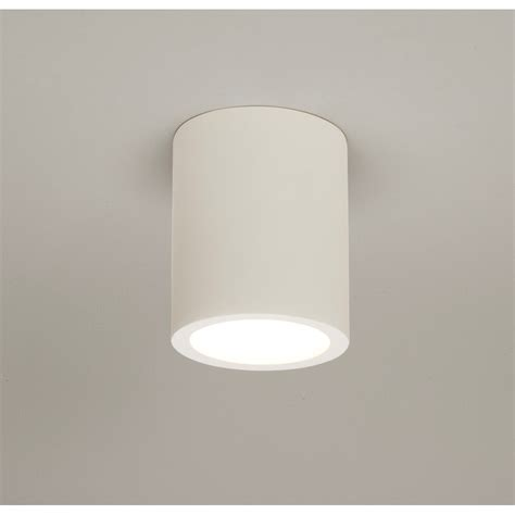 White Ceiling Lights Astro Lighting 5646 Osca 140 Ceiling Light In White Plaster Astro Ceiling Lighting