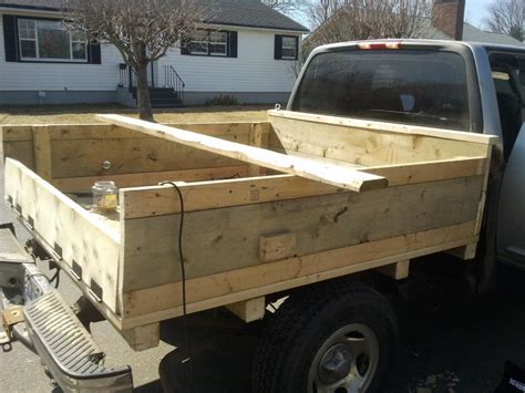 wooden truck bed wood flatbed for truck pdf woodworking