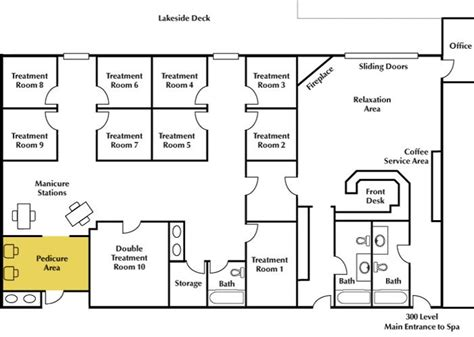floor plan salon business project pinterest new york day spa floor plans minnesota spa resort cragun s resort