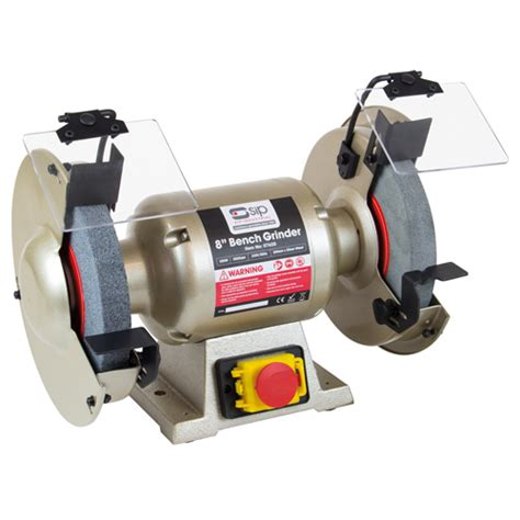 bench grinder with wire brush sip 07628 bench grinder 200mm dia with free wire brush wheel