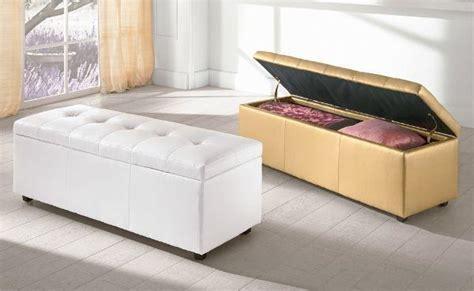 panca per da letto panca contenitore