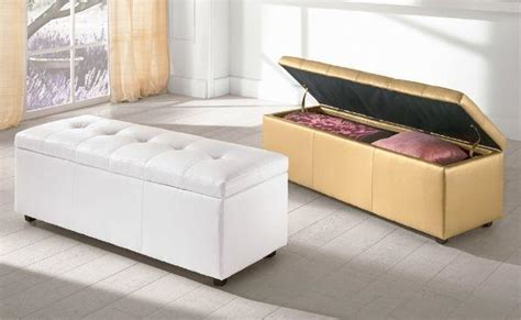 panca da letto panca contenitore