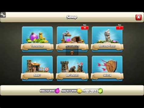 coc mod sb game hacker how to hack coc using sb game hacker youtube
