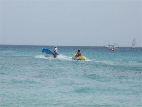 banana boat picture banana boat ride picture of dominican republic