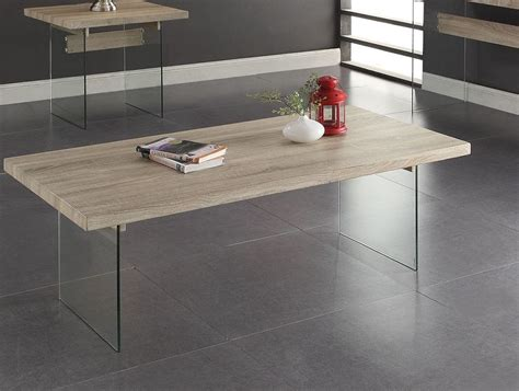 Clear Glass Table L Glassden L Oak Clear Glass Coffee Table