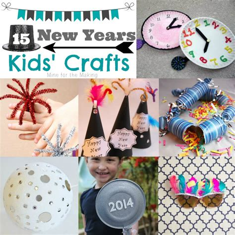new year and craft projects teach me tuesday 15 new years crafts mine for the