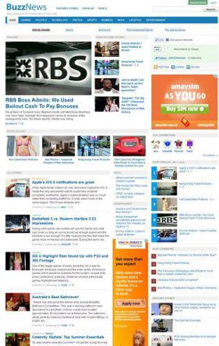 Newspaper Template Website by Website Clones And Templates Cmsmind