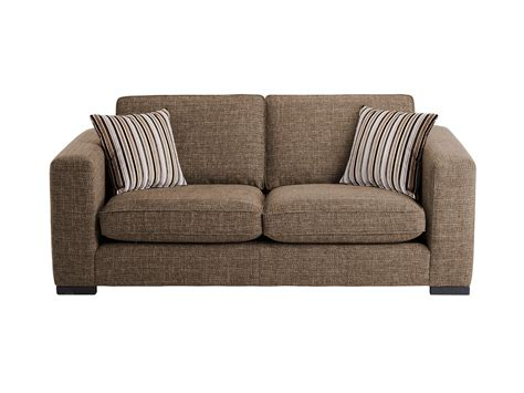 casual sofa genoa small sofa in casual taupe