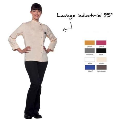 veste cuisine personnalis馥 veste de cuisine pour femme personnalis 233 e veste cuisine