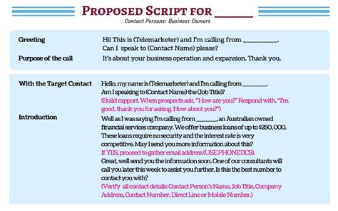 call script template don t waste a moment see sle cold calling scripts