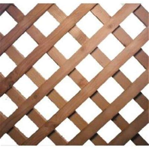 weathershield lattice panel fence from home depot garden