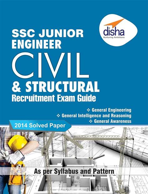 ssc junior engineer civil structural engineering recruitment exam guide  disha experts