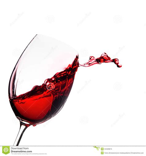 Cool Wine Glasses by Glass Of Wine With Splash Stock Photo Image Of Cool