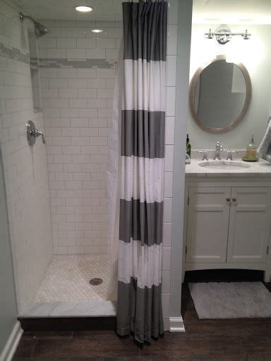 Walk In Shower Curtain Inspiration 1000 Ideas About Basement Bathroom On Basements Basement Bathroom Ideas And Income