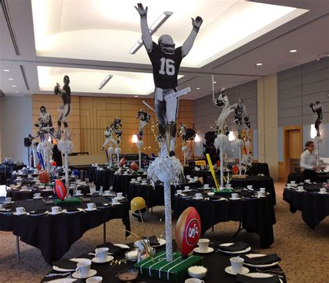 best 25 football centerpieces ideas on