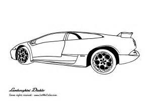 Coloring Lamborghini Coloring Lamborghini Letmecolor