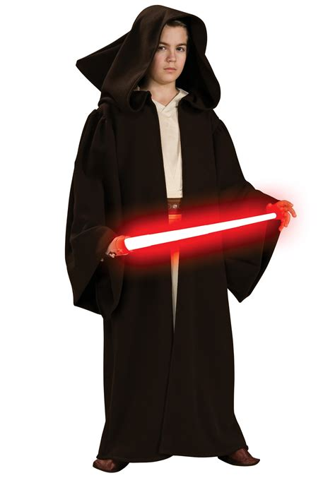 robe costume child deluxe sith robe wars costumes