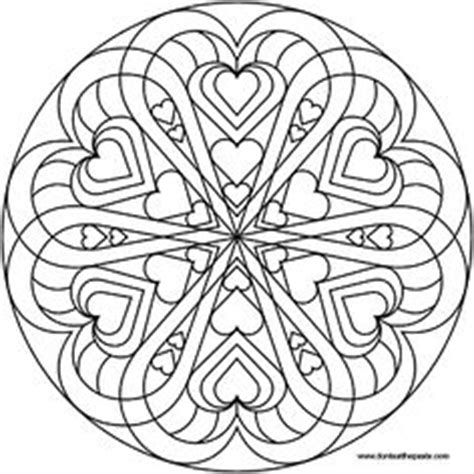clover mandala coloring page 1000 images about adult colouring pages on pinterest