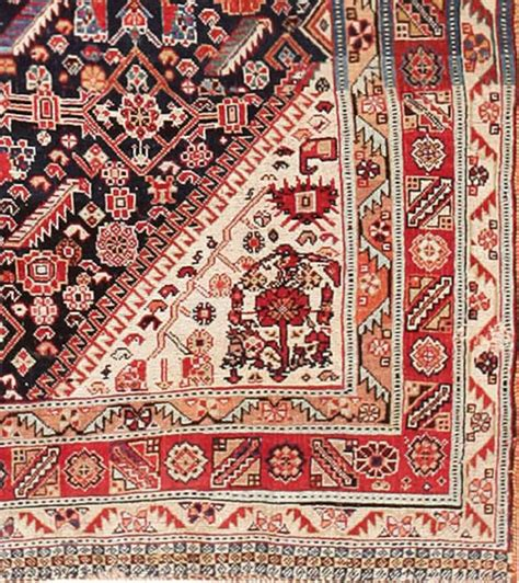 antique tribal rugs antique tribal qashqai rug at 1stdibs