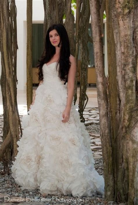 Monique Lhuillier Sunday Rose Wedding Dress   Tradesy