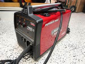 lincoln 140c power mig wire feed welder excellent